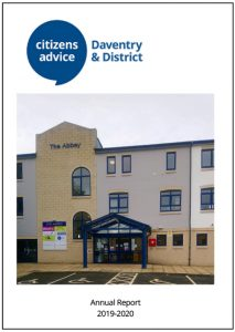 Link to CAB Daventry and District Annual Report 2020